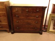 William Iv chest of drawers