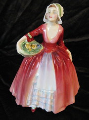 royal doulton figure janet