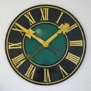 LARGE TURRETT CLOCK