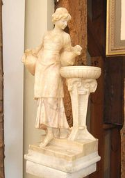 Italian Alabaster Sculpture by