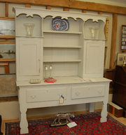Painted 18th C Oak Dresser
