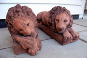 A Pair of Conova Lions