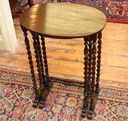 Pair of Oak Occasional Tables