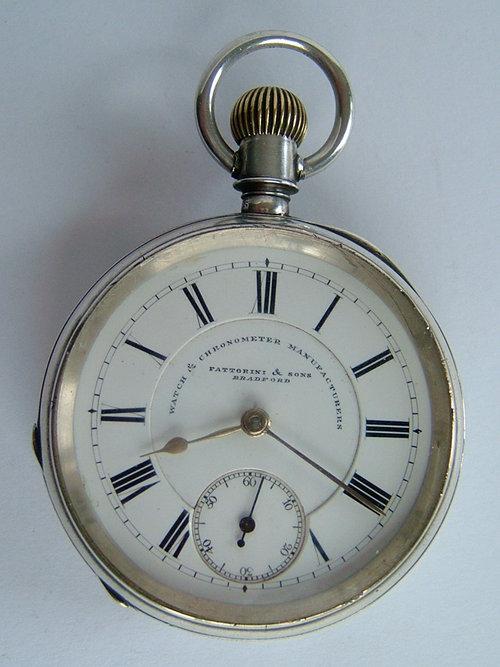 Rare Antique Waltham Silver Pocket Watch