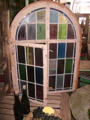 antique leaded light window