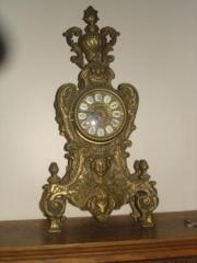 elaborate french clock