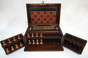 Walnut Cased Compendium of Gam
