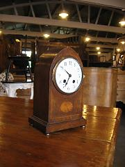 Edwardian Lancet cased Clock