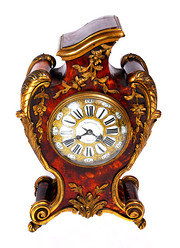 LOUIS XV SHELLORMULU CLOCK C17