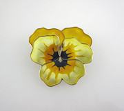 David Anderson Enamelled Pansy