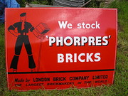 VRare Mint Enamel Sign Phorpre
