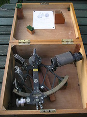 Vintage Nautical Sextant Cooke