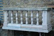 Magnificent Carved Limestone Balcony