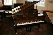 Antique Rosewood Grand Piano